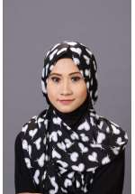 Pashmina Black Love